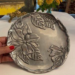 Arthur Court Magnolia Flower 2001 Plate